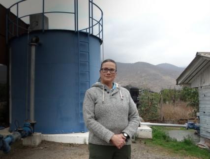 Nueva amenaza contra Verónica Vilches, activista por derechos del agua en Chile